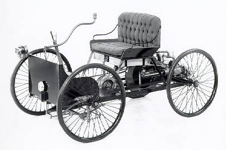 quadricycle  sc 1 st  Greg Smith Equipment Blog & This Day in Automotive History - Henry Ford Tests his Quadricylce ... markmcfarlin.com